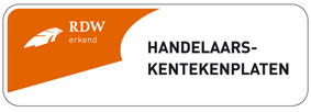 handelaars kentekenplaten